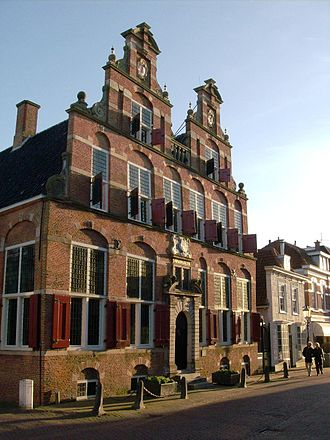 Voorburg - The old Town Hall 'Swaensteyn' from 1632