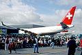 Swissair Airbus A330-223; F-WWIK@ZRH;23.08.1998 (5875760053).jpg