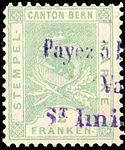Switzerland Bern 1880 revenue 2Fr - 17E.jpg
