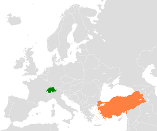 Diplomatic relations between the Swiss Confederation and the Republic of Turkey