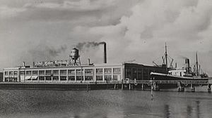Kongens Enghave - Ford Motor Company's assembly plant in the 1930s