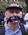 Sydney-StopTheWar-20051105-gagged-protester.jpg