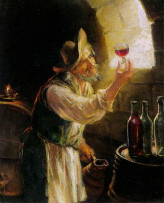 Old World wine - In Old World wine making, the role of the winemaker is minimized compared to New World wine making.