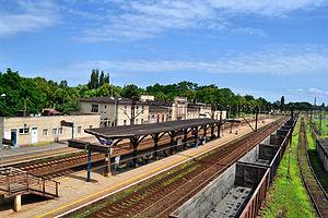 Szczecin Dąbie railway station - Szczecin Dąbie railway station