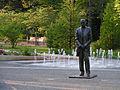 T.G.Masaryk statue, Lázeňský park Poděbrady.jpg