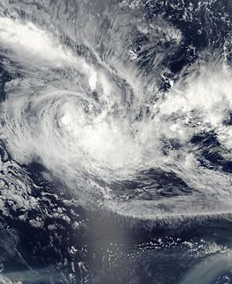 Cyclone Cilla Category 1 South Pacific cyclone in 2003