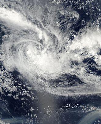 2002–03 South Pacific cyclone season - Image: TC Cilla 28 jan 2003 0055Z