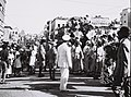 "THE ""BIKURIM"" PARADE IN HAIFA, DURING THE ""SHAVUOT"" HOLIDAY. חג שבועות. בצילום, חג הביכורים בחיפה.D826-078.jpg"