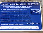 TRAX bicycle rules (at Power station), Aug 15.jpg