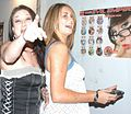 Tabitha Tucker, Vanilla Skye at Evil Angel Party 2.jpg