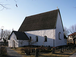 Täby kirke i april 2006