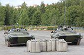 Taistelunäytös BMP-2 Kokonaisturvallisuus 2015 01.JPG