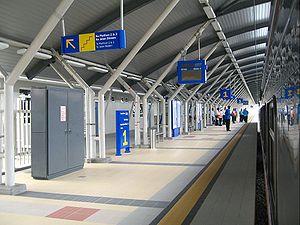 Tanjung Malim railway station - Image: Tanjungmalimrailways tation 1