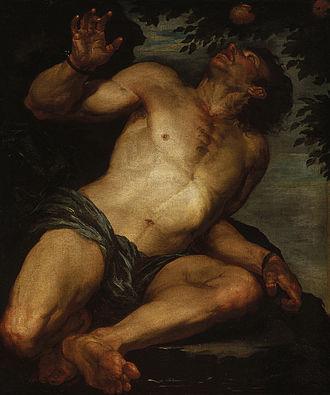 Tantalus - Image: Tantalus Gioacchino Assereto circa 1640s