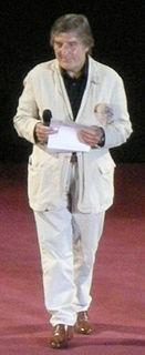 Emanuel Ungaro French fashion designer