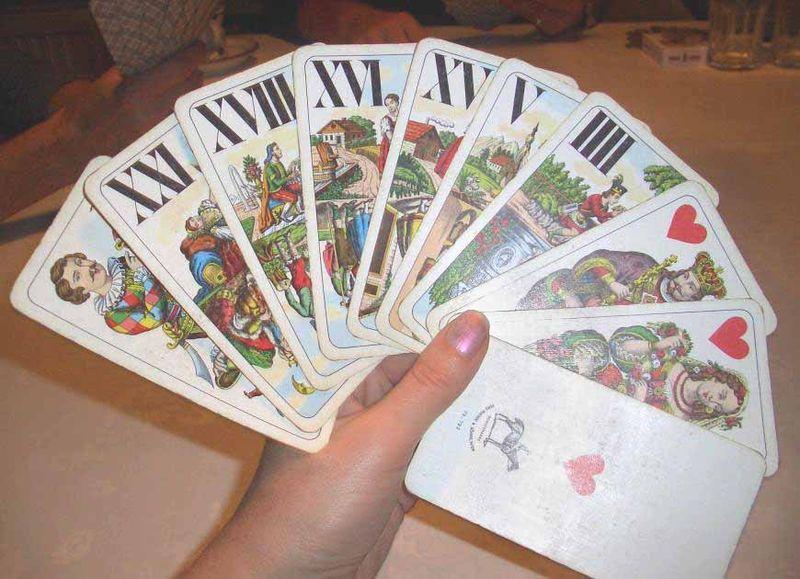 Tarot historical decks
