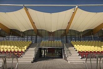 Rabobank IJmond Stadion - Image: Tata Steel Stadium Zwarts & Jansma architects