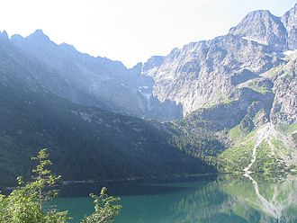 Tatra Mountains - View from above Morskie Oko