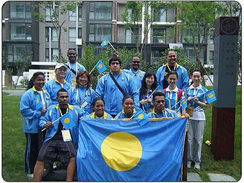 Team Palau Summer Olympics 2008