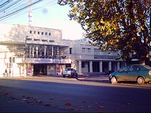Parral, Chile - Theater and Public Library of Parral.