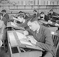 Technical School- Training at Tottenham Polytechnic, Middlesex, England, UK, 1944 D21373.jpg