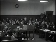 File:Telford Taylor's opening address at the Judges' trial.webm
