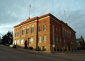 Teller County Court House in Cripple Creek