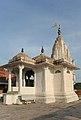 Temple at the top, Galtaji, Jaipur, India.jpg