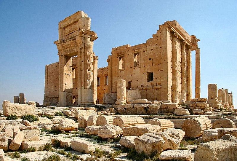 File:Temple of Bel in Palmyra.JPG