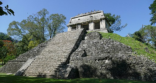 Temple of the Count - Palenque Maya Site, Feb 2020