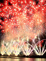 Tenchijin Fireworks at Nagaoka Festival 2011 2.jpg