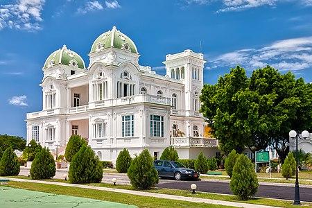 Building of Cienfuegos, Cuba club.