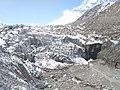 Terminus of Gangotri Glacier in 2017.jpg