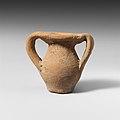 Terracotta miniature jar with two handles MET DP121681.jpg
