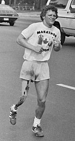 Terry Fox 20th-century Canadian athlete
