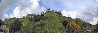 Monte Testaccio - Image: Testaccio monte dei cocci 051204 12 13