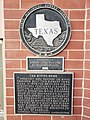 Texas Historical marker for the Bivins Home.jpg