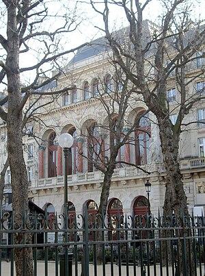 La Gaîté Lyrique - Facade of the former Théâtre de la Gaîté on the rue Papin, now part of La Gaîté Lyrique