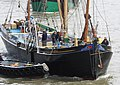 Thames barge parade - about to turn downstream - Thalatta 6775c.JPG
