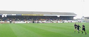 Cambridge United F.C. - The Abbey Stadium's Main Stand