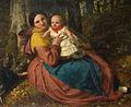 The Artist's Son and Nurse - Frederick Richard Pickersgill.jpg