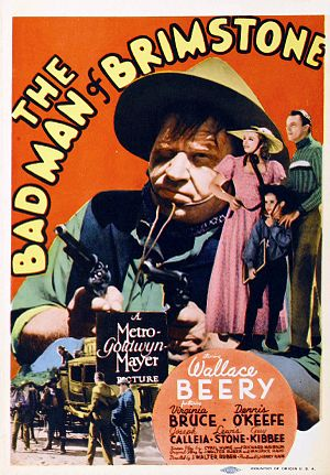 Scotty Beckett - Beckett on the poster for The Bad Man of Brimstone (1937)