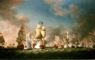 The Battle of Cape Passaro, 11 August 1718