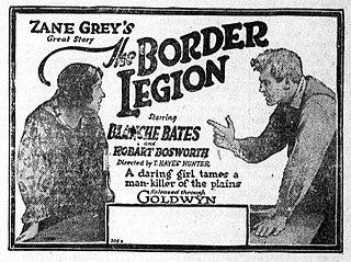 <i>The Border Legion</i> (1918 film) 1918 film by T. Hayes Hunter