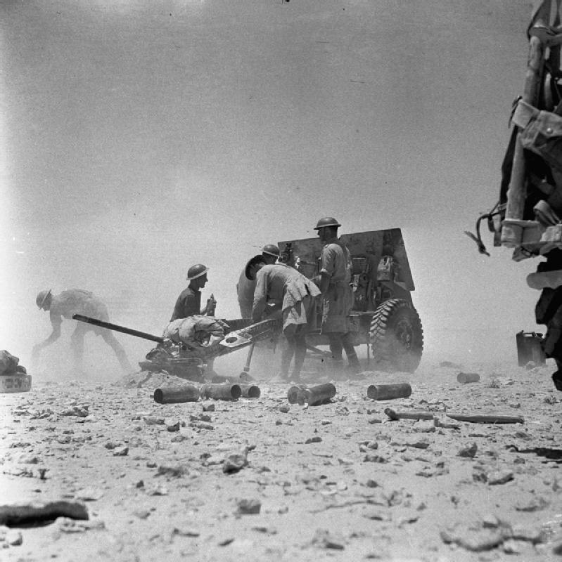 The British Army in North Africa 1942 E14114