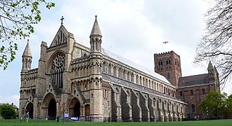Hertfordshire - St Albans Abbey