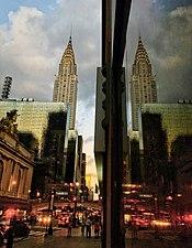 The Chrysler Building overlooks East 42nd Street.jpg