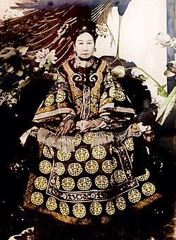 慈禧太后统治中国的政治模式
