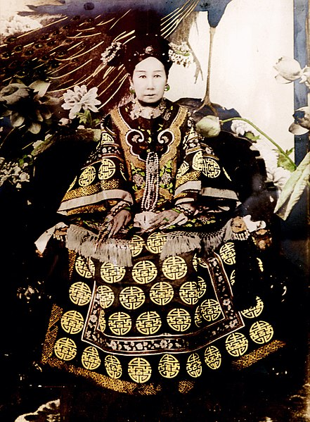 photography of Empress Dowager Cixi