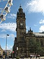 The Clock Tower, Sheffield Town Hall - geograph.org.uk - 1482123.jpg
